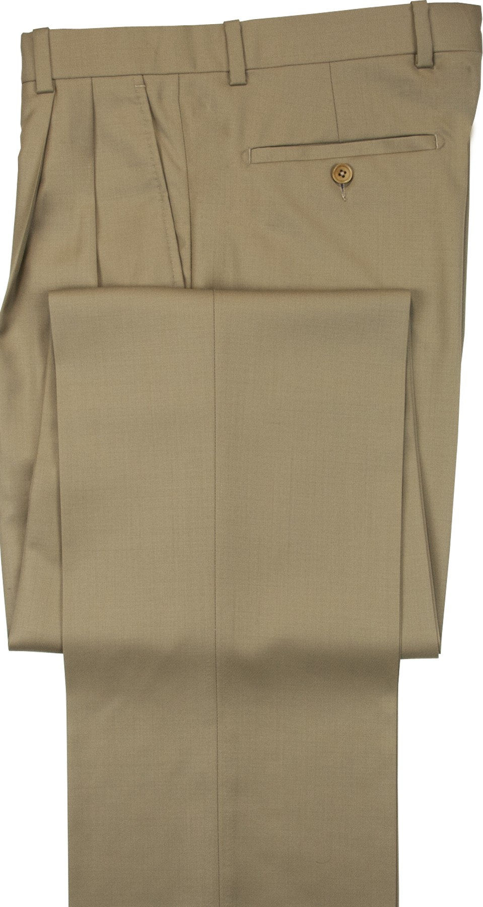 "Aristo 18 ""Aberdeen"" Pleated Trouser - Luxury Wool Solids"