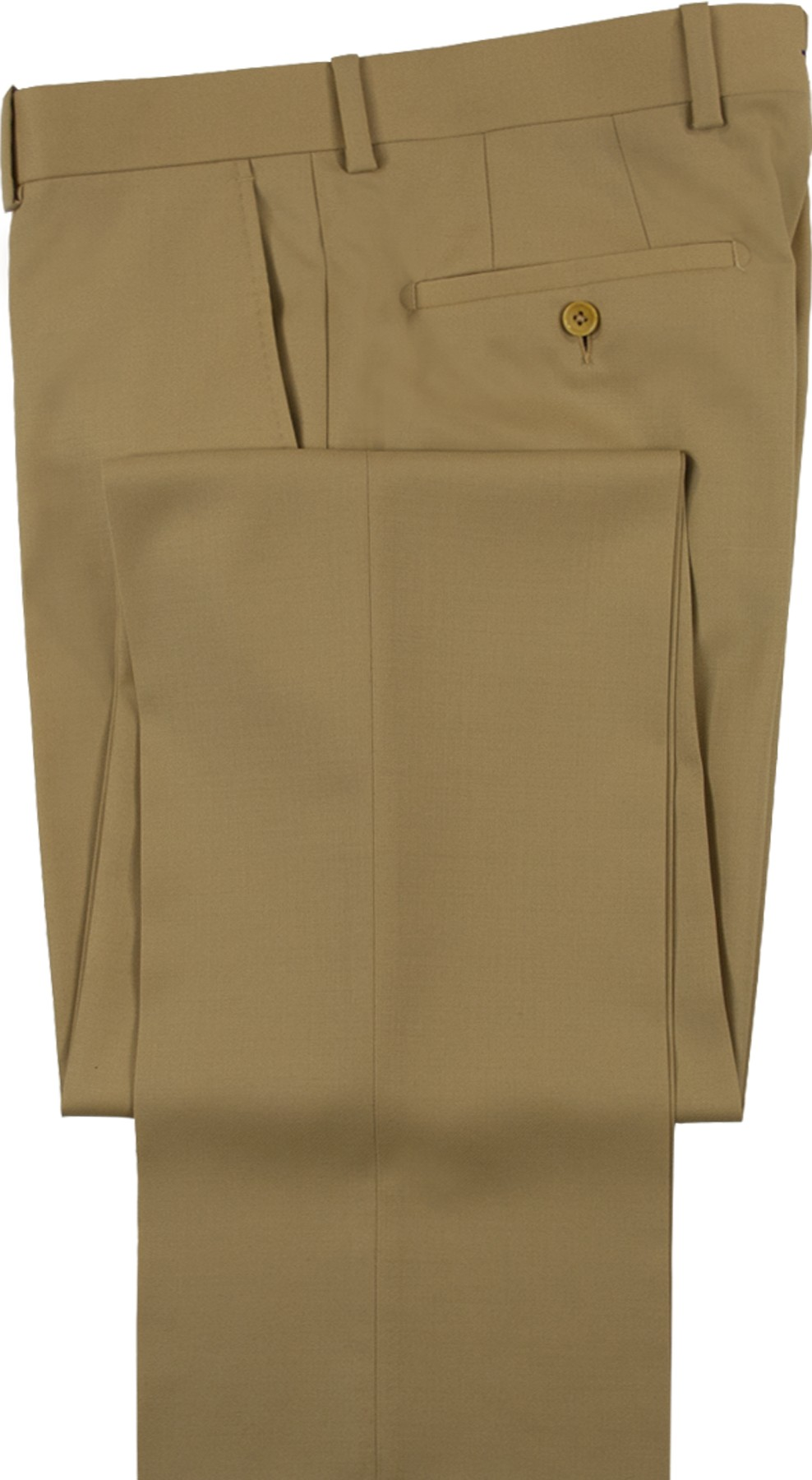 "Aristo 18 ""Stirling"" Flat Front Trouser - Luxury Wool Solids"