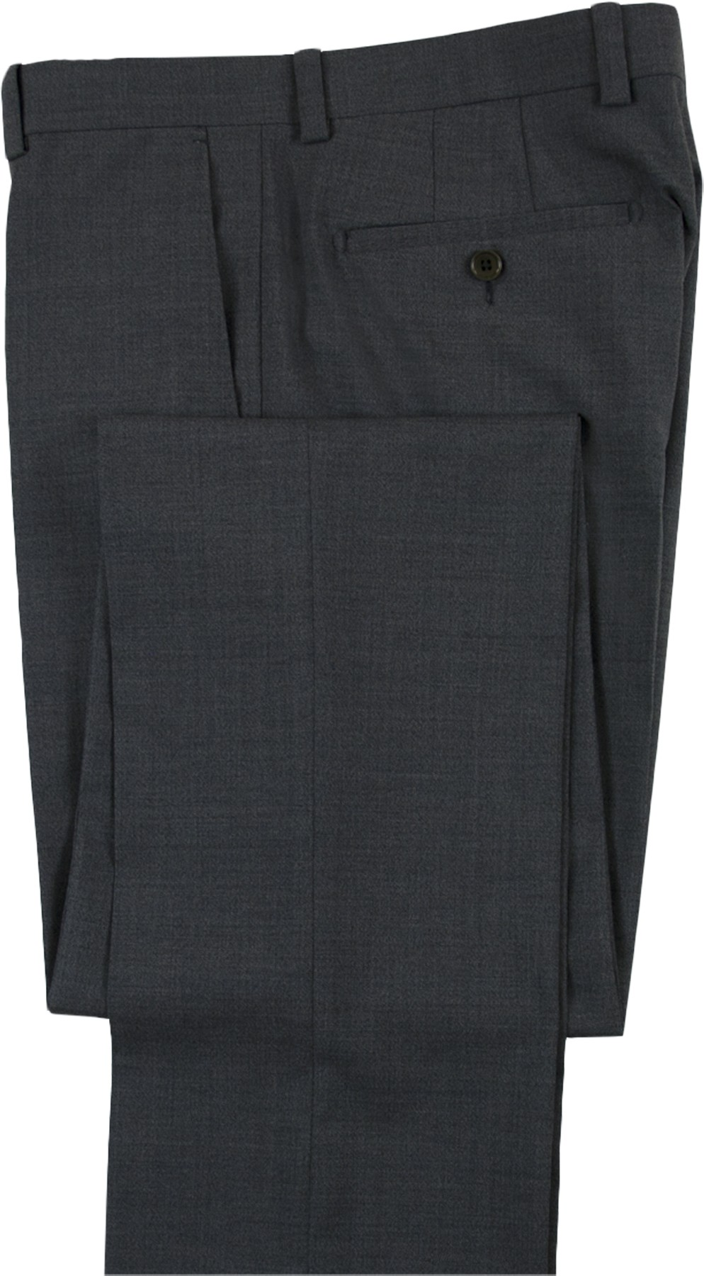 "Aristo 18 ""Stirling"" Flat Front Trouser - Performance Wool Solids"