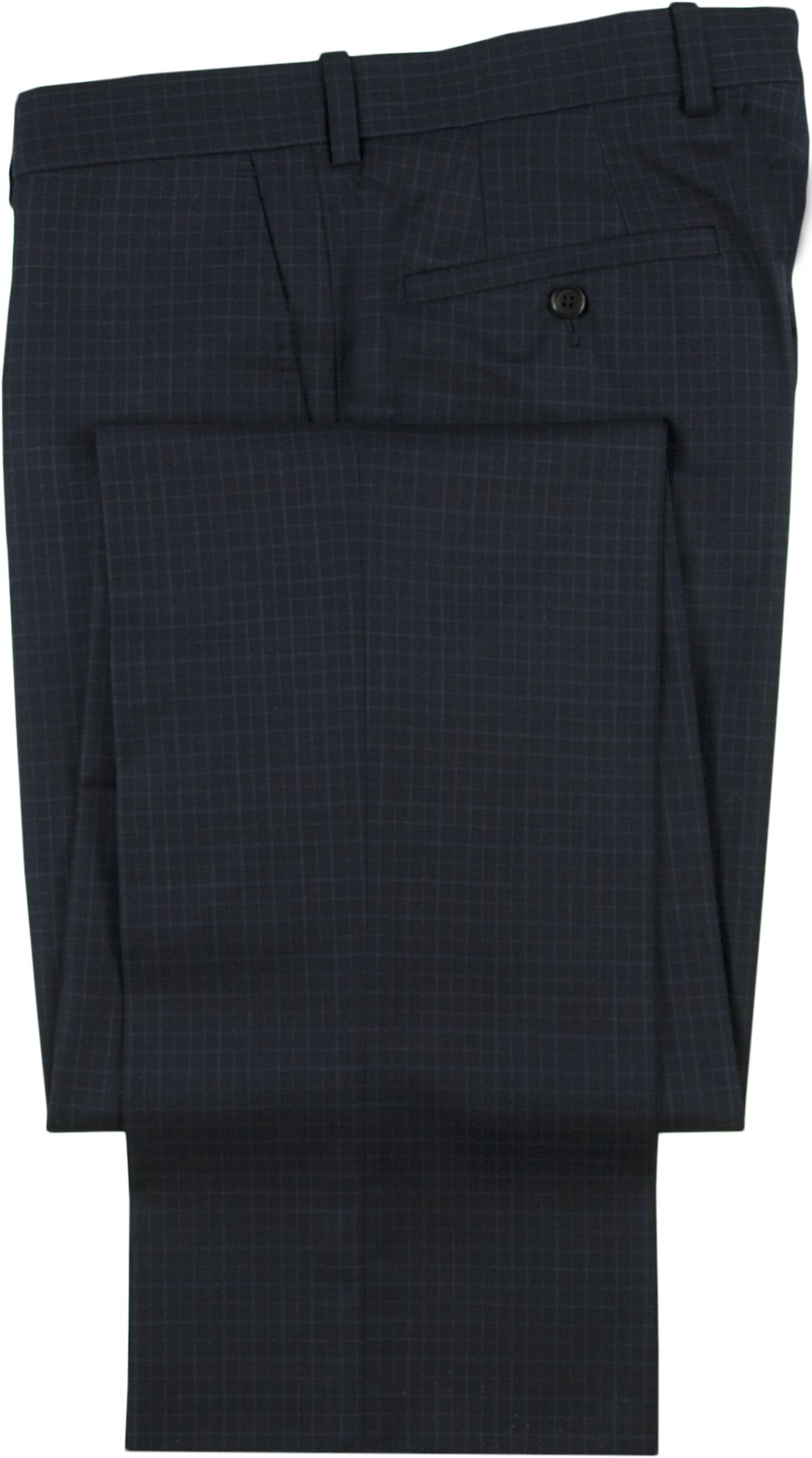 "Aristo 18 ""Stirling"" Flat Front Trouser - Luxury Wool Checks"
