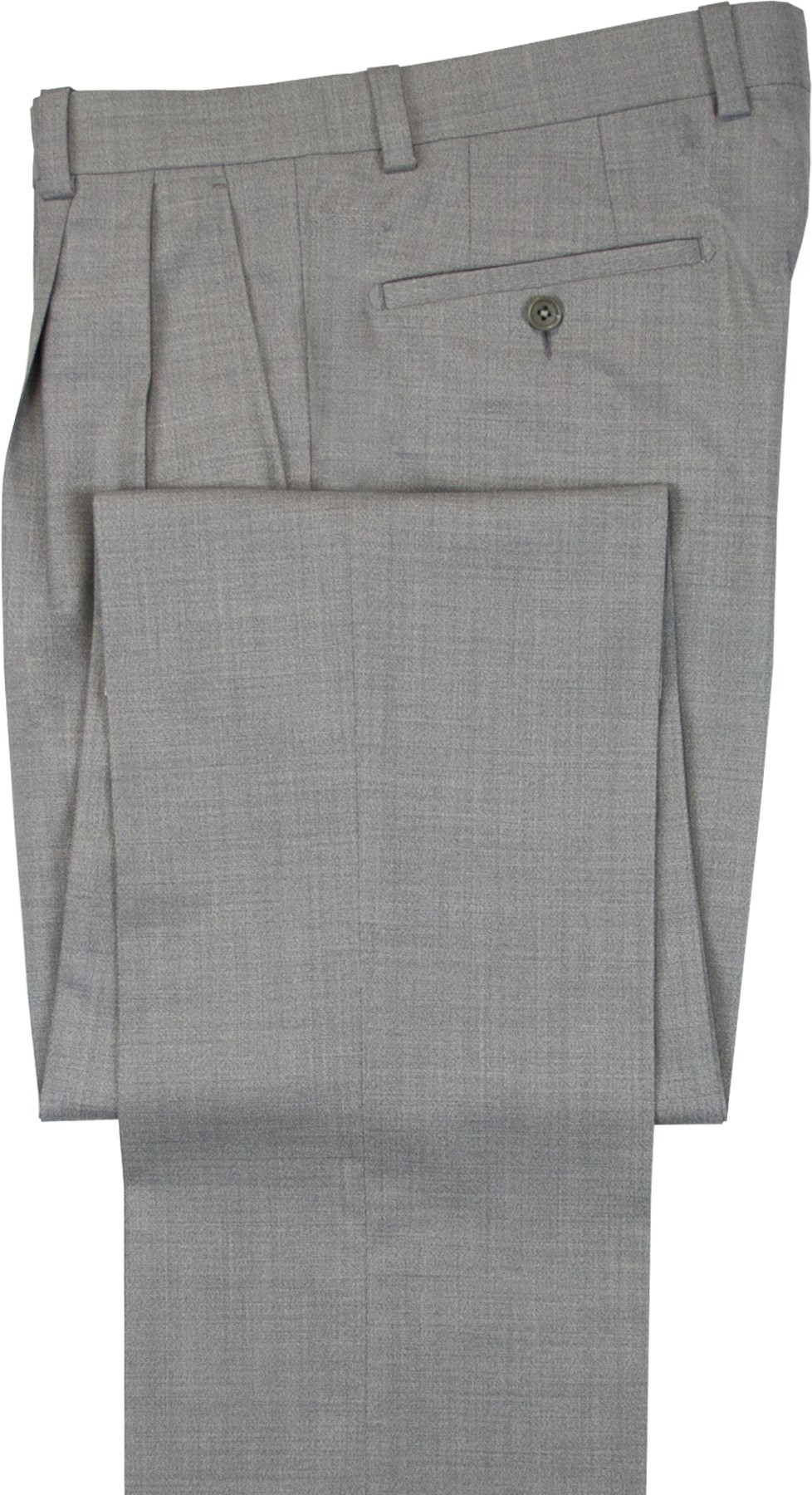 "Aristo 18 ""Aberdeen"" Pleated Trouser - Performance Wool Solids"