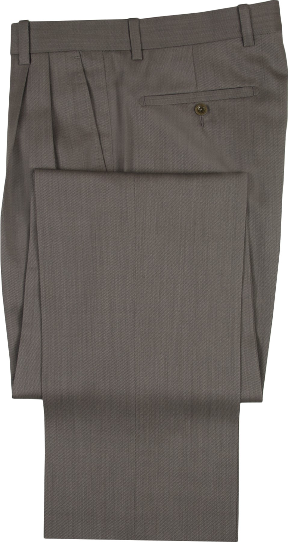 "Aristo 18 ""Aberdeen"" Microfiber Cord Pleated Trouser - Tech"
