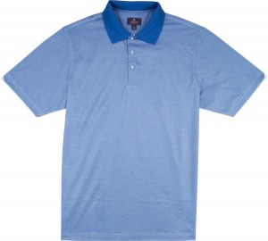 "A-18 ""Boulder"" Hairline Stripe Polo Shirt - Hybrid-Tech"