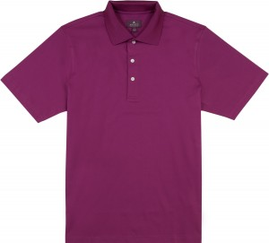 "Aristo 18 ""Savannah II"" Interlock Knit Polo Shirt - Swiss Cotton"