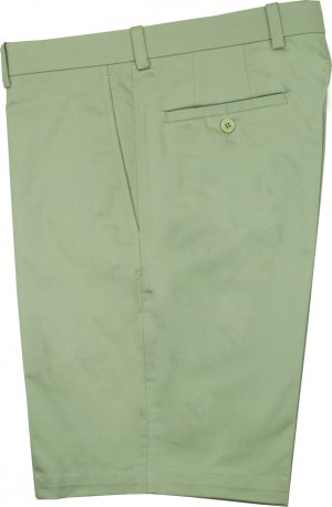 "Aristo 18 ""Mesa"" Flat Front Short - Stretch Cotton"
