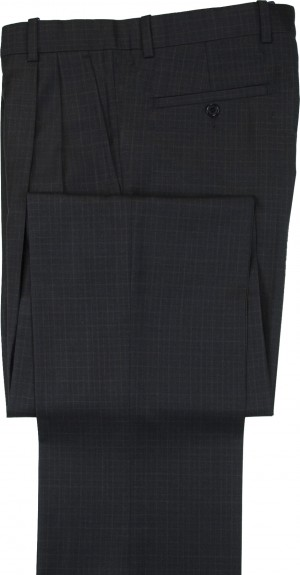 "Aristo 18 ""Aberdeen"" Pleated Trouser - Luxury Wool Checks"