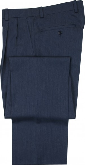"Aristo 18 ""Aberdeen"" Pleated Trouser - Luxury Wool Twills"