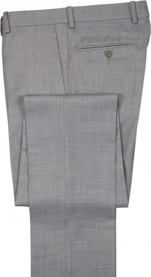 "Aristo 18 ""London"" Flat Front Trouser - Luxury Wool Solids"