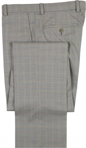"Aristo 18 ""Stirling"" Flat Front Trouser - Performance Wool Patterns"