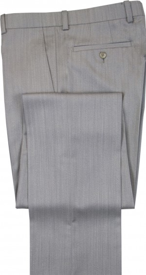 "Aristo 18 ""Stirling"" Flat Front Trouser - Luxury Wool Twills"