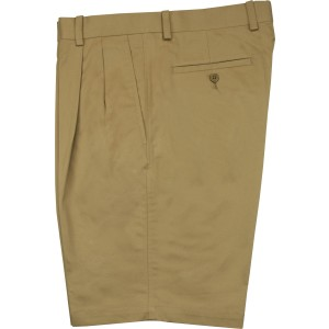 "Aristo 18 ""Pima"" Pleated Short - Stretch Cotton"