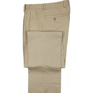 "Aristo 18 ""Havasu"" Pleated Trouser - Stretch Cotton"