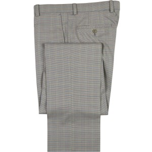 """Aristo 18 """"Stirling"""" Flat Front Trouser - Performance Wool Patterns"""