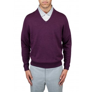 "Aristo 18 ""Perth"" V-Neck Sweater - Merino Wool"