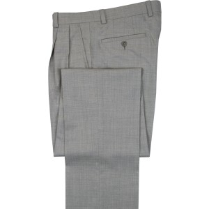 """Aristo 18 """"Aberdeen"""" Pleated Trouser - Performance Wool Solids"""